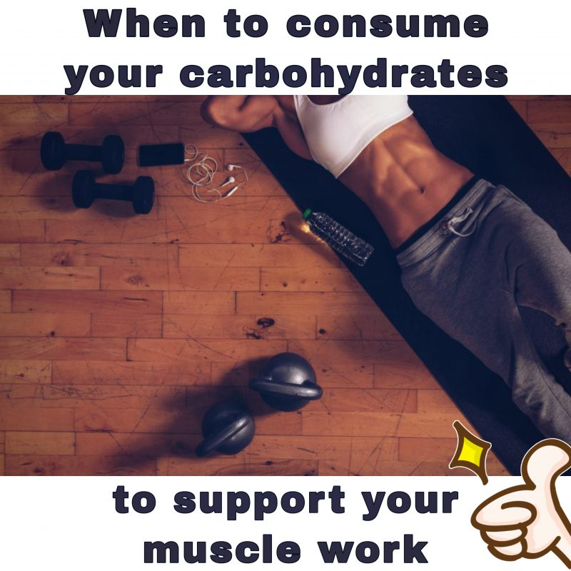when to consume your carbohydrates