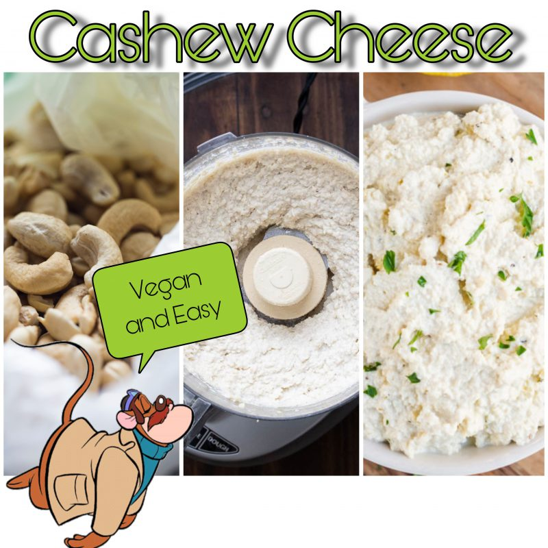 vegan and easy vegan cheese